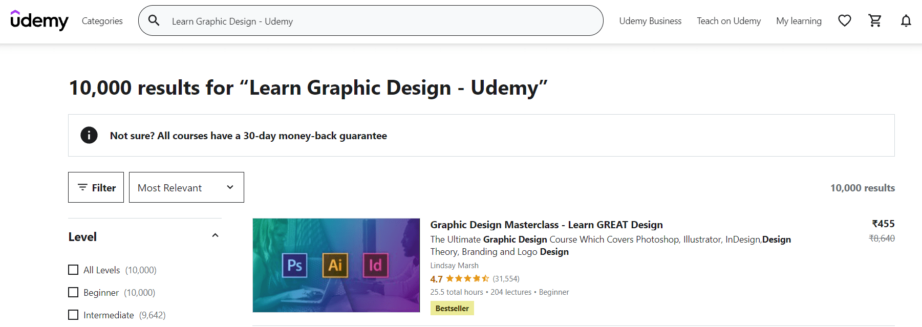 Graphic Design Course On Udemy (1)
