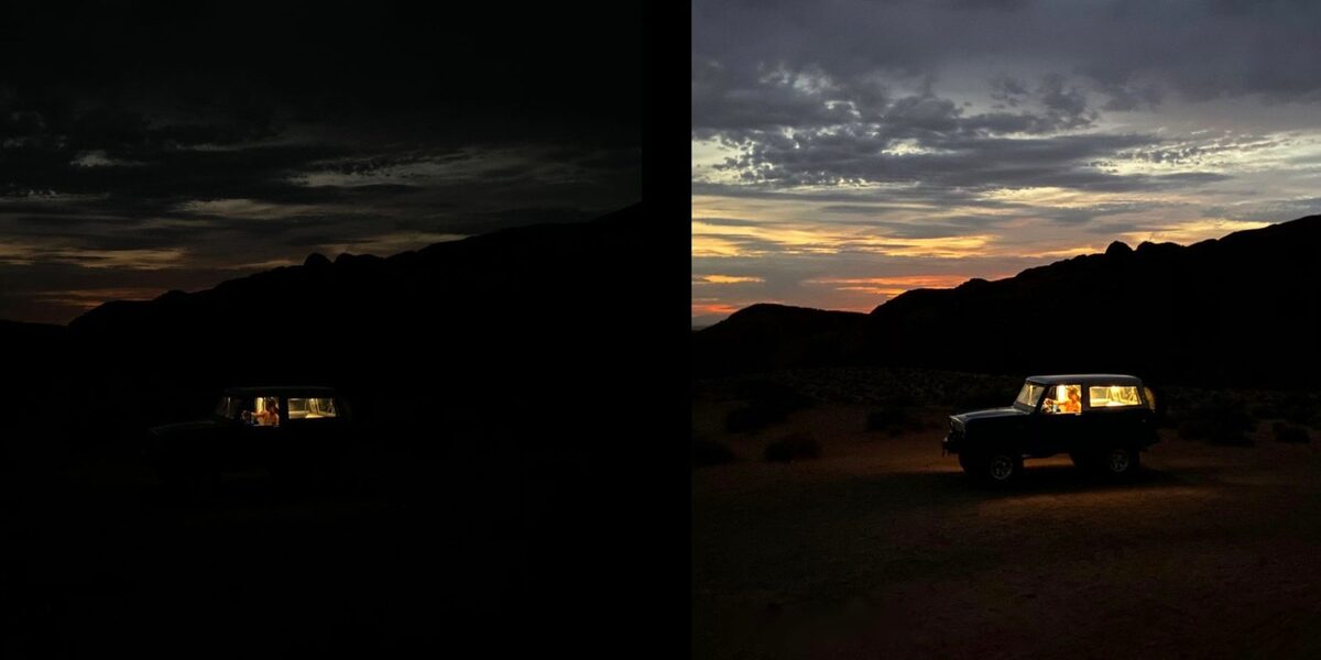 how-to-use-night-mode - Phone Camera